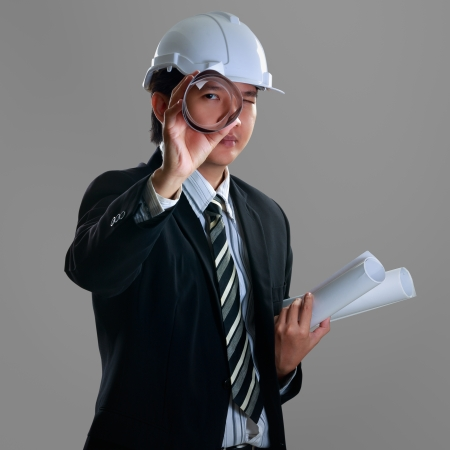 Young confident engineer Stock Photo - 23572277