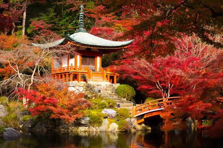temples: Daigoji Temple, Kyoto Japan