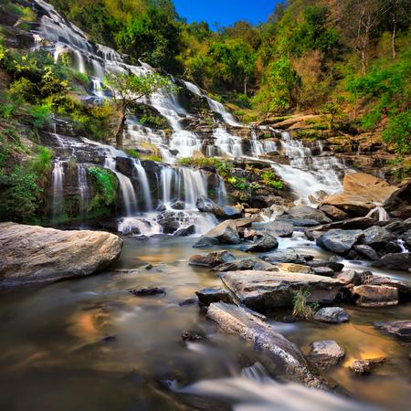 Mae Ya Waterfall, Chiangmai, Thailand photo
