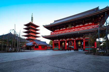 Sensouji temple Tokyo Japan