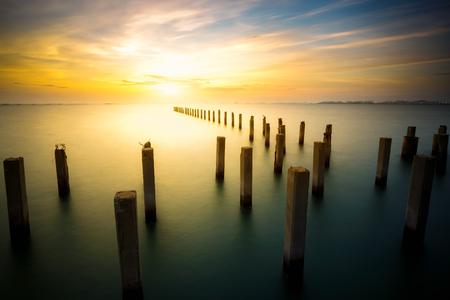 exposici�n: Una larga exposici�n de mar