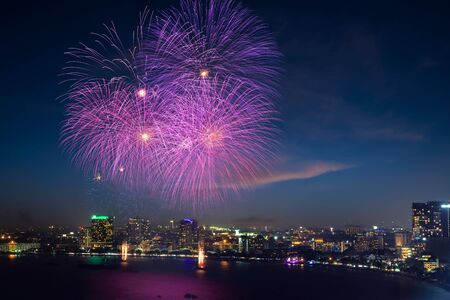 pattaya: Pattaya International Fireworks Festival 2011