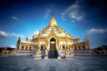 relic: Swe taw myat buddha tooth relic pagoda, Yangon Myanmar Burma