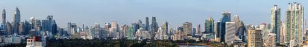 calgary: Panorama of midtown bangkok, Thailand Stock Photo
