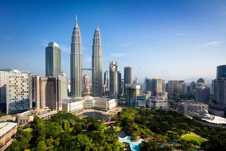 Kuala lumpur skyline, Malaysia 스톡 콘텐츠