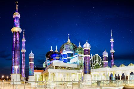 Masjid Kristal (Crystal moskee), Maleisië Stockfoto - 60035458
