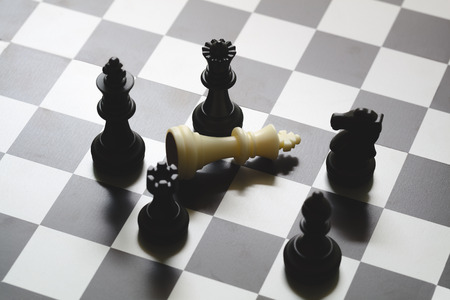 business game: Business strategic formation in the chess game