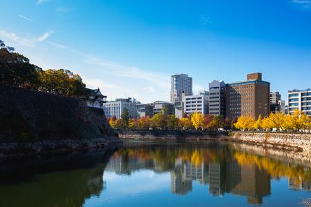 Osaka park, Osaka Japan Фото со стока - 112137589