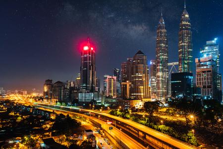 Kuala lumpur skyline in the morning, Malaysia Фото со стока - 115587864