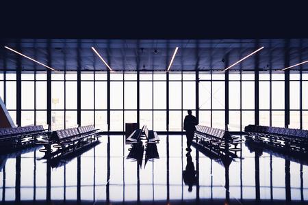 Airport terminal Фото со стока - 119755708