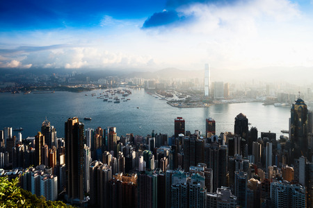 Hong Kong Sunrise, View from The peak, Hong Kong
