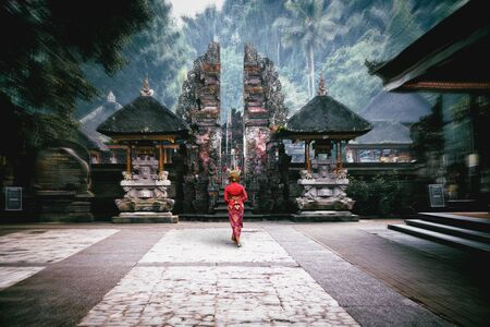Pura Tirta Empul temple, Bali Indonesia