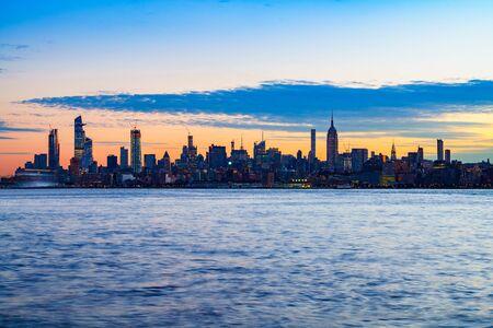 New york city skyline, New york USA