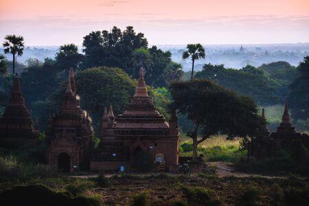 Pagodas and temples of Bagan, Mandalay Myanmar
