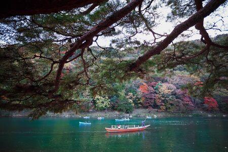The katsura river, Kyoto Japan
