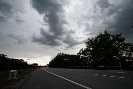 hight: Hight Way in cloudy