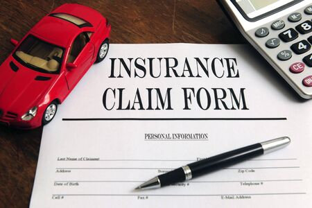 Insurance Claim Form Stock Photo - 7898685