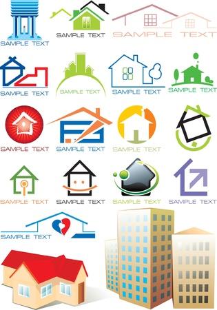 Logo of house Vector