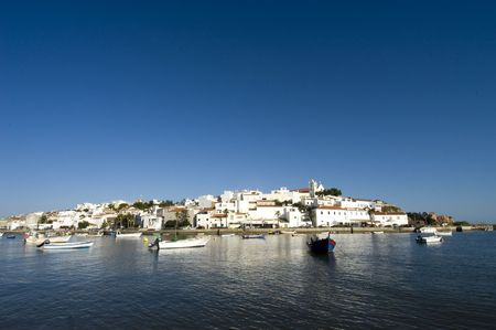 portugese: Old Portugese town in Algarve