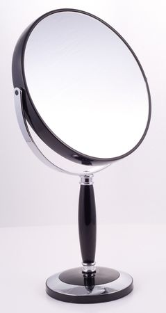 luxury goods: Espejos para el cuarto de ba�o, art�culos de lujo Foto de archivo