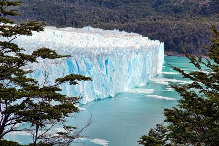 perito moreno: Perito Moreno Glacier far Stock Photo