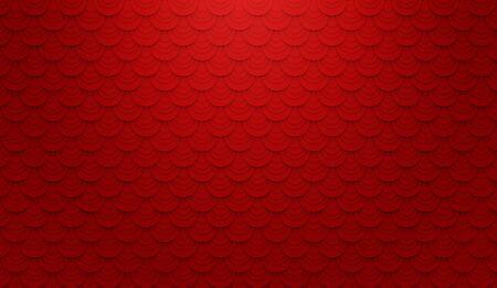 抽象的な豪華な赤い壁の背景の 3 d イラストレーション 写真素材