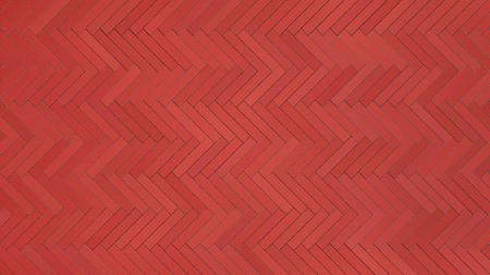 red bricks floor background