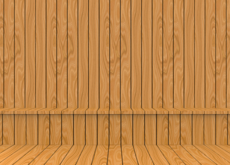 3d rendering. Brwon wood panels seating and wall of sauna background.