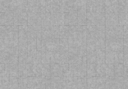 3d rendering. seamless vertical simple gray brick blocks wall background. 写真素材