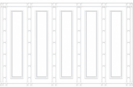 3d rendering. luxury white classical pattern wood design vintage wall background.