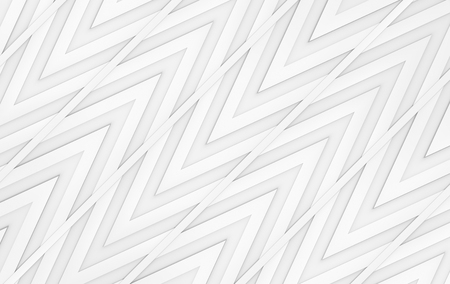 3d rendeirng. modern gray triangle zig zag pattern wall design background. Stok Fotoğraf