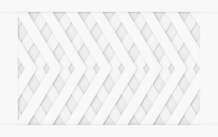 3d rendering. modern square grid pattern frame wall design background. Stok Fotoğraf
