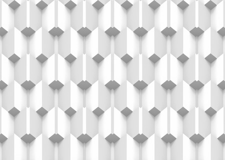 3d rendering. modern square box grid stack pattern wall design background. Stok Fotoğraf