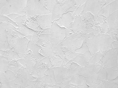 white cement plaster pattern wall texture background.