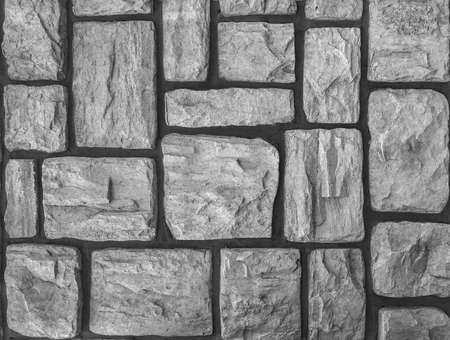 aged weathered stone paving walking way surface background. Stok Fotoğraf