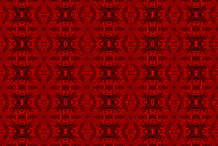 3d rendering. seamless modern red chirstmas style pattern art design vintage wall background. 스톡 콘텐츠