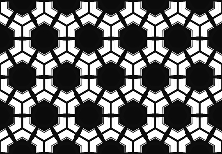 3d rendering. modern seamless white hexagon or hive honeycomb design pattern wall background.