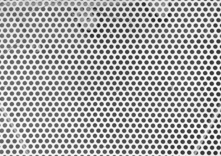 White metal mesh table surface wall background. Zdjęcie Seryjne