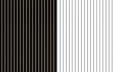 3d rendering. modern white and black alternate parallel vertical bar pattern wall floor background.