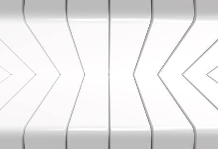 3d rendering. modern light gray pattern panel design wall background. Фото со стока