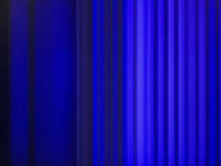 Blurred parallel blue light pattern lines illustration art background.