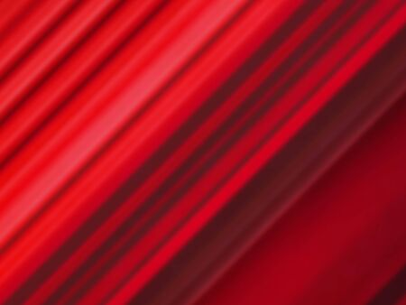 blurred diagonal parallel red light pattern lines illustration art background.