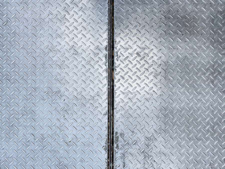old weathered metal plate surface texture wall background.