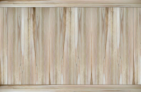 Natural light brown wood panel surface wall texture background.