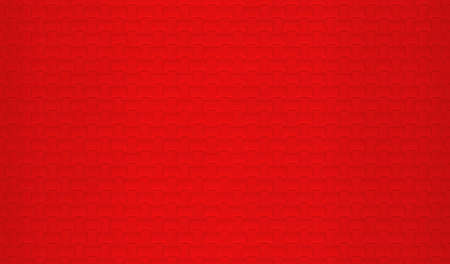 3d rendering. Blank Red carft pattern surface material texture wall backgorund. Stockfoto