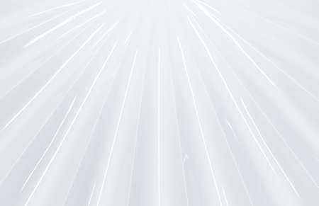 3d rendering. abstract futuristic modern white art line pattern wall background.