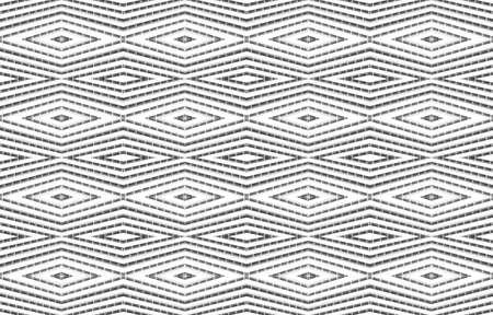 3d rendering. Seamless modern white square grid pattern design wall art background.