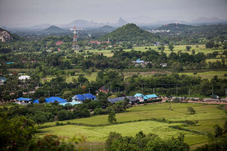 ratchaburi: mountain at Ratchaburi, thailand