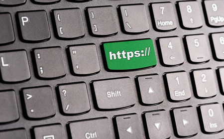 https: https: button, on keyboard