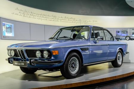 cs: Munich, Germany, April 19, 2016 - old BMW 3.0 CS
